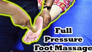 ASMR Full Pressure Foot Massage - ASMR Relaxing