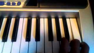 How to play I'm different on the piano by 2 Chainz