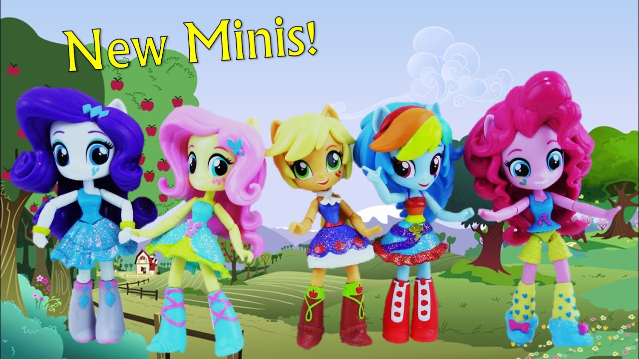 New My Little Pony Equestria Girls Minis - Fall Formal School Dance Dolls Series 2