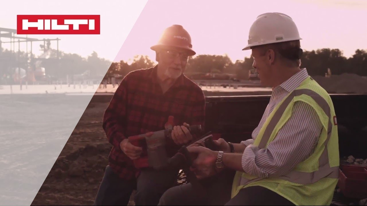 The evolution of cordless at Hilti