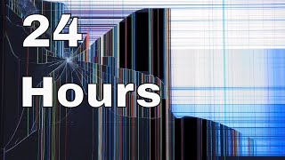 24 Hour Prank Cracked Screen Background Video