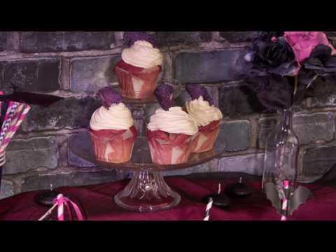 Receita de Halloween : Cupcakes Chica Vampiro™