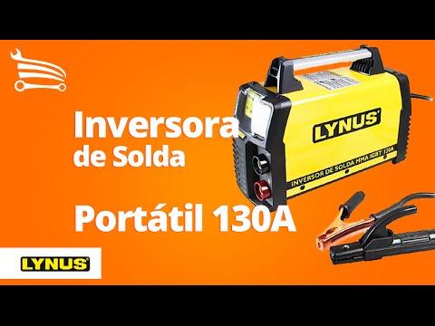 Inversora de Solda Portátil 130A  - Video