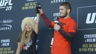 UFC 219: Open Workout Highlights