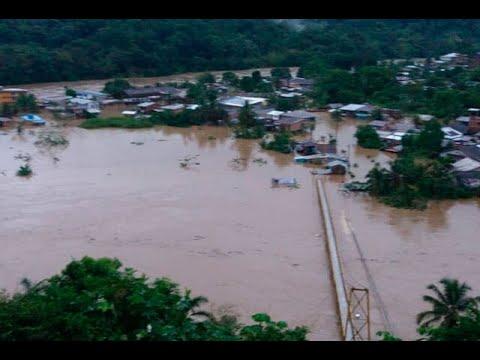 Emergencia en Choco por el desbordamiento de cinco rios   Noticias Caracol