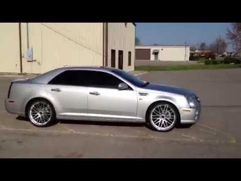 22 inch Savini BM4 Wheels 2011 Cadillac STS