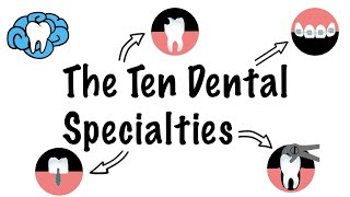 The Ten Dental Specialties