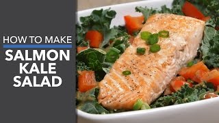 Salmon Kale Salad