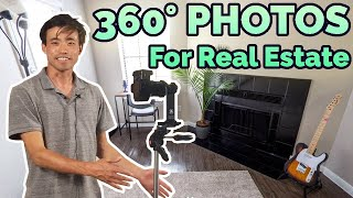 360° Virtual Tours: HOW TO MAKE A 360° PHOTO [How to Shoot and Edit Real Estate Photography]