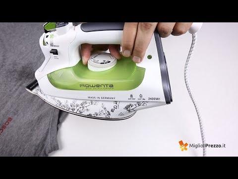 Ferro da stiro senza caldaia Rowenta DW6020 Video Recensione