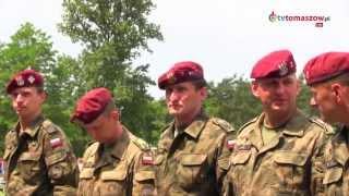 preview picture of video 'Święto 25 Brygady Kawalerii Powietrznej w Tomaszowie Maz. 22 czerwca 2013'
