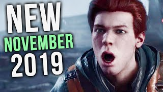 Top 10 NEW Games of November 2019