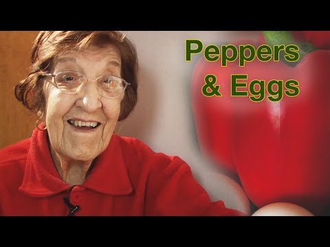Great Depression Cooking – Peppers and Eggs (part 1)