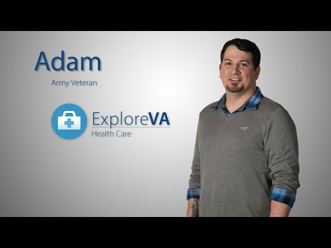 "Adam credits his entire VA team for pulling him out of a ""deep, dark hole."""