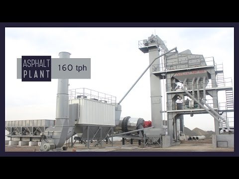 Asphalt Batch Mixer Plants