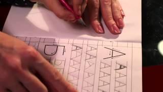 Смотреть онлайн Как научить ребёнка писать буквы