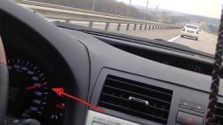 Приора наказывает лакшери Тойоту Камри 3.5
