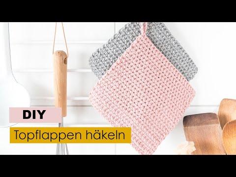 Topflappen Häkeln Für Anfänger Ars Textura Diy Ideen Geschenke