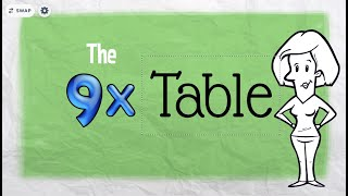 9x table