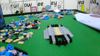 Building Lego VW Beetle 10252