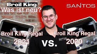 GASGRILL Broil King Regal 490, 2021 gegen Broil King Regal 490, 2020 | Grillvorstellung im Vergleich
