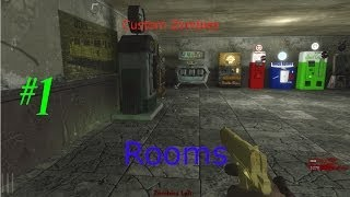 Custom Zombies: Rooms part 1 Look at the pretty colors!
