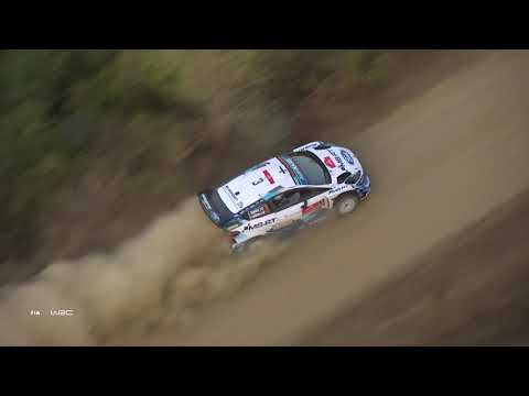 WRC ラリー・ターキー(トルコ)。Sports Ford WRTがグラベルを激走するダイジェスト動画