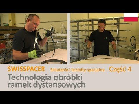 SWISSPACER Przetwarzanie - Składanie i kształty specjalne