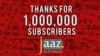 1,000,000 (1 Million) Subscribers On Jaaz Multimedia Youtube Channel.