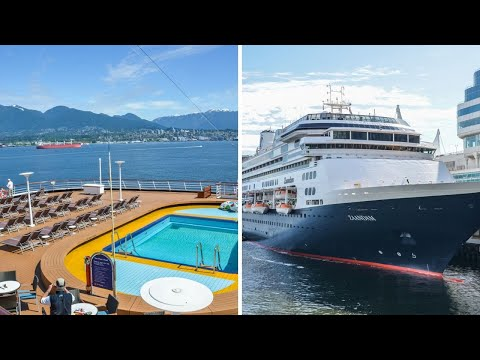 Zaandam Holland America Cruise Ship Video Tour Review