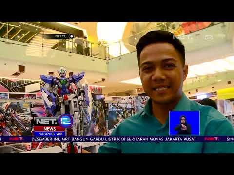 Pameran Action Figure Terbesar Di Surabaya Hadirkan Gundam Limited Edition   NET12