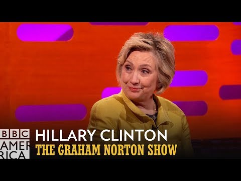 Hillary Clinton Claps Back at Donald Trump Only When Necessary - The Graham Norton Show