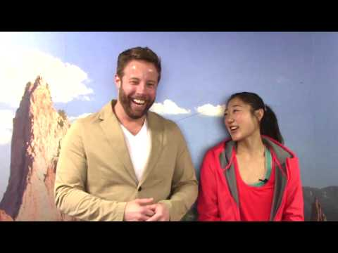 2017 Golden Skate interview with Mirai Nagasu