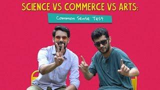 Science Vs Commerce Vs Arts: Common Sense Test | Ft. Arushi & Kanishk | Ok Tested