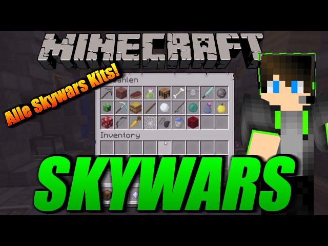 Spielen Alle Skywars Kits Vollidioten In Skywars Mega Spannende - Minecraft skywars spiele