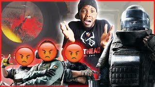 THE MOST DYSFUNCTIONAL TEAM EVER! - Rainbow Six Siege | (RB6 Siege Multipayer)