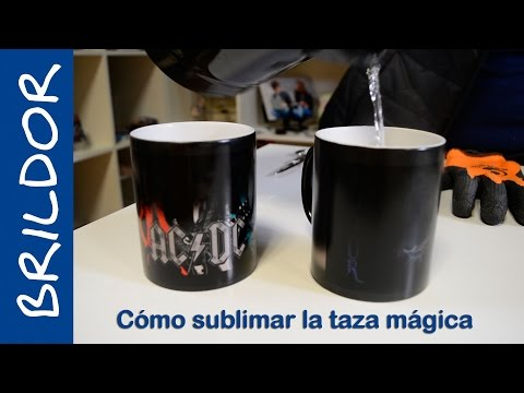 How to sublimate a magic mug