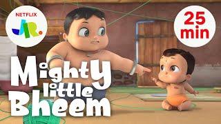 Mighty Little Bheem FULL EPISODES 17-21   Season 1 Compilation   Netflix Jr.