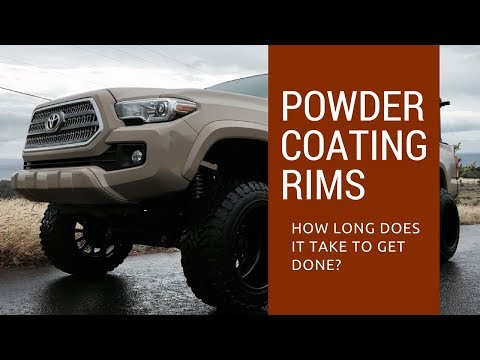 How Long Does It Take To Powder Coat Wheels and Rims ...