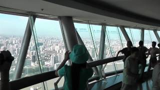 Video : China : A trip to the Oriental Pearl Tower 东方珍珠塔, ShangHai