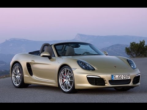 New Porsche Boxster 2012 official video (Motorsport)