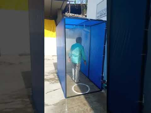 Automatic disinfectant tunnel