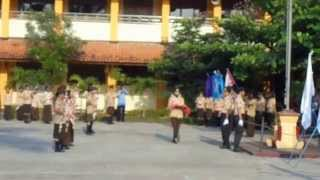 preview picture of video 'Upacara Hari Pramuka Ke-53 14 Agustus 2014 bagian 1'