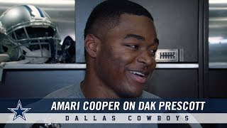 AmariCooperonBuildingChemistrywithDakPrescottandaNewOffense|DallasCowboys2018