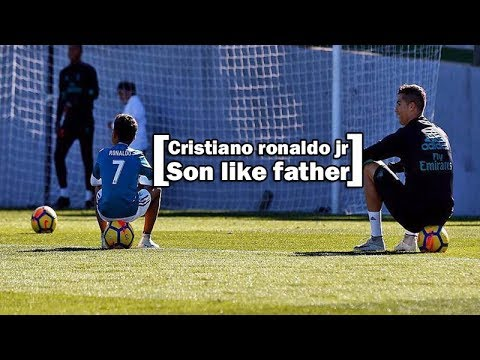 Cristiano ronaldo jr ● Son like Father ● All Good moment, skills & goals || HD