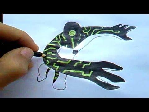 Como Desenhar Ben 10 - Ultra T