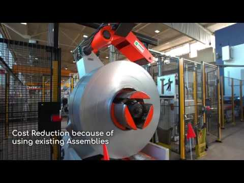 Press Retrofitting by the Automation Expert DREHER Automation
