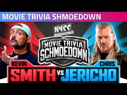 Kevin Smith vs Chris Jericho: Movie Trivia Schmoedown Hits NYCC!