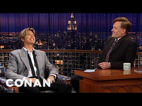 Conan vzpomíná na Davida Bowieho