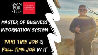 Tech Business Analyst | Swinburne University | Business Information System | International Student